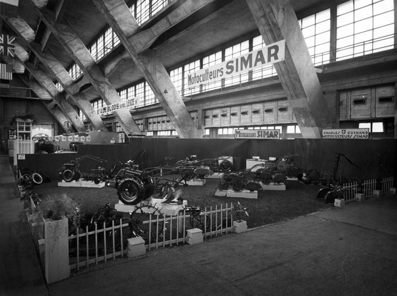 Salon 1949 bruxelles simar for Salon de la machine agricole